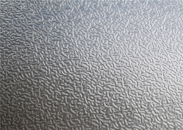 Stucco Embossed Aluminum Sheets 1060 , 3003 , 5052 Embossing Thin Aluminium Sheet